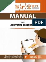 Manual Asistentes Electorales 2013 Final