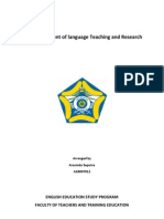 english language teaching and research by arsuindo saputra