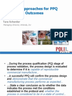 Statistical Approach to PPQ