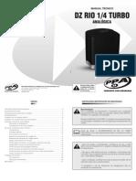 Manual Tecnico DZ Rio 14 Turbo Analogica Rev0