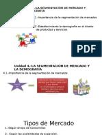 La Segmentacion Del Mercado y La Demografia
