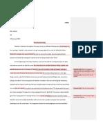 hamlet final essay edits