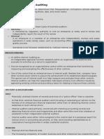 Foundation of Internal Auditing