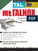 Digital Buzz Newsletter Featuring Metalnox Heat Presses