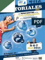 Brochure Doctoriales 2015