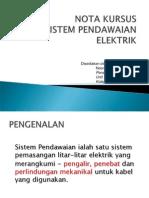 Sistem Pendawaian Elektrik