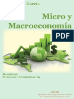 Micro y Macroeconomía - Apolinar García