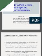 Alcance de La PMO - Proyectos - Portafolios Programas