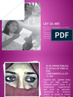 Ley 26.485 - Violencia de Genero