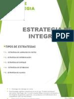 estrategia de integracion