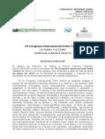 Congreso ORBIS 2015 2aCircular ULT