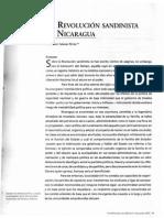 La Revolucion Sandinista en Nicaragua