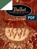 Ballet Nacimiento de Un Arte