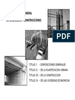 Construcción general PUC