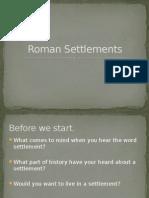 roman settlements