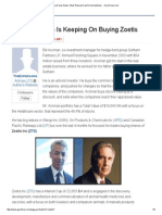 Bill Ackman is Keeping on Buying Zoetis544
