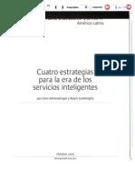 Cuatro Estrategias Para La Era de Los Servicios Inteligentes Sub