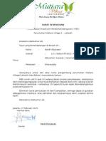 Surat Pernyataan Pg ethenyelesaian IMB MV2-VIII