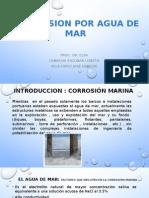 Corrosion Por Agua de Mar