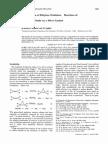 Ethylene Oxide Kinetics and Mechanism