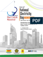 Hari Listrik Nasional 2014