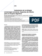 Diagnóstico y Tratamiento de La Disfagia