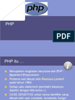 Dasar PHP