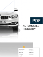 Automobile companies analysis and valuation