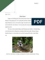 extreme sports  draft 5