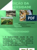 Diminuição Da Biodiversidade