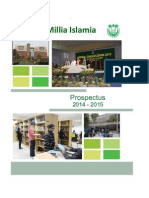 Prospectus 2014 for AMU