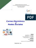 Correo Electronico y Redes Sociales