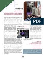 Article Sensitif Magazine Chemise Sur Mesure Homme