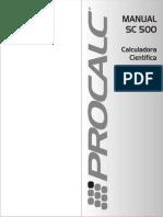 Calculadora ACME SC500
