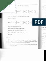 Exercícios de Algebra Linear