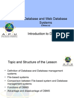 Topic1 IntroductiontoDatabases Aug14
