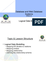 Topic4 LogicalDataModelling Aug14