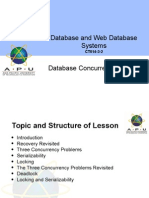 DWDS Topic8 Database Concurrency Control Aug14