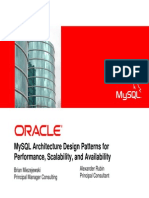 MySQL Architecture Design Patterns for Performance, Scalability, And Availability Presentation