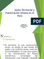 Planificacion y Ordenamiento Territorial en el Peru