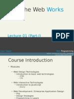 WEB Lecture 1