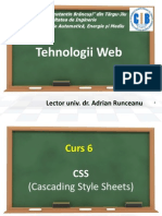 Introducere in CSS