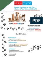 Clean Cute Pet Care-biz Plan