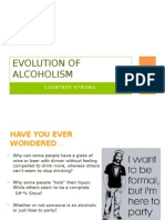 evolution of alcoholism