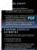 Microbial Assays