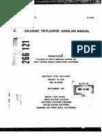 Rocketdyne Chlroine Tryfluorine Manual