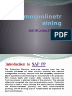 SAP PP Online Training
