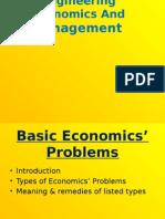 Basic Economics Problems