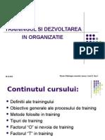 Formarea Profesionala in Organizatie