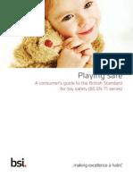 BSI Consumer Brochure Playing Safe UK En